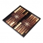 Preview: II. WAHL - Atilla Tavla 3in1 XL Brettspiel - Backgammon - Tavla - Schach - Dame 47x47cm