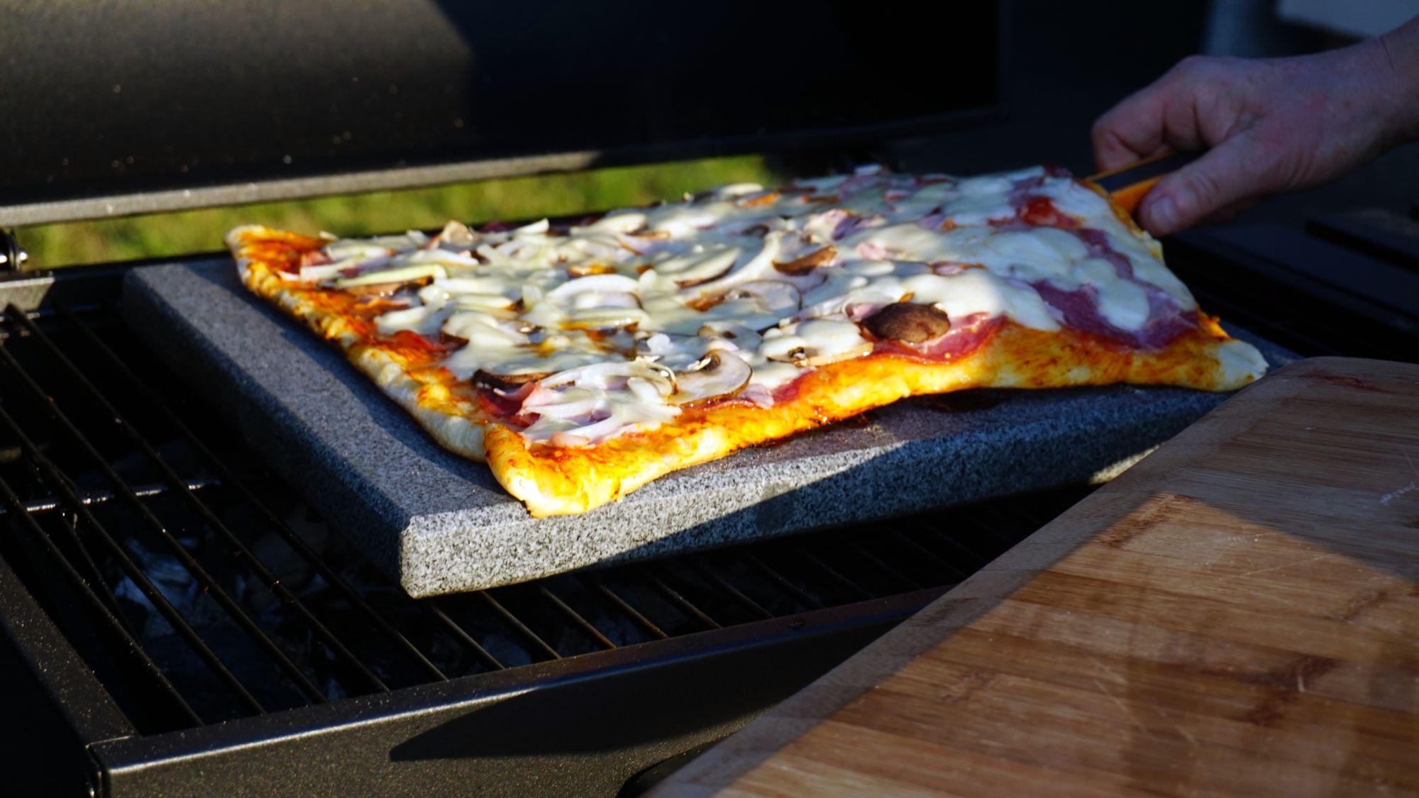 Pizzastein Für Gasgrill : Universal granit pizzastein heisser stein grillstein für