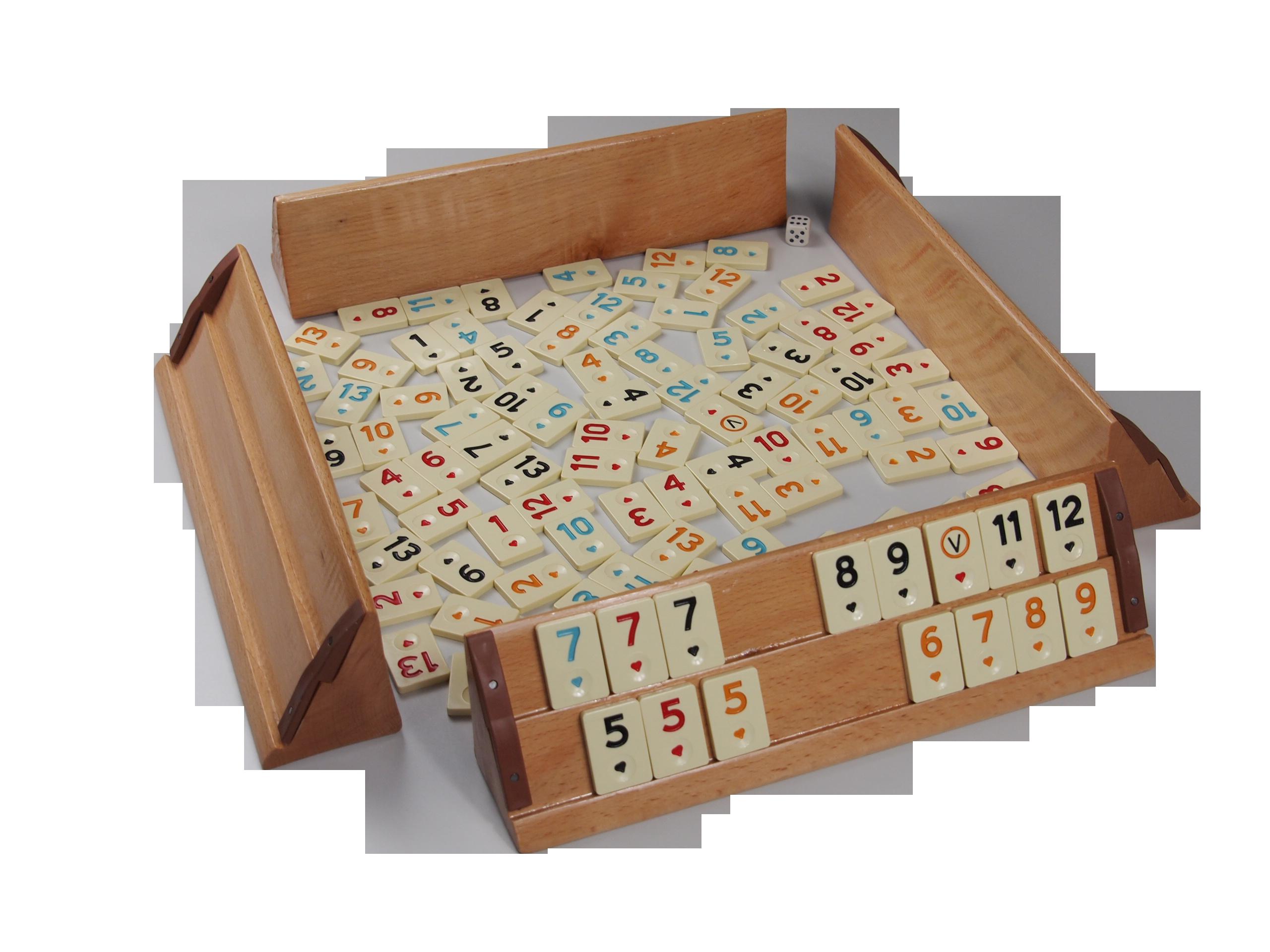Türkisches Spiel Okey