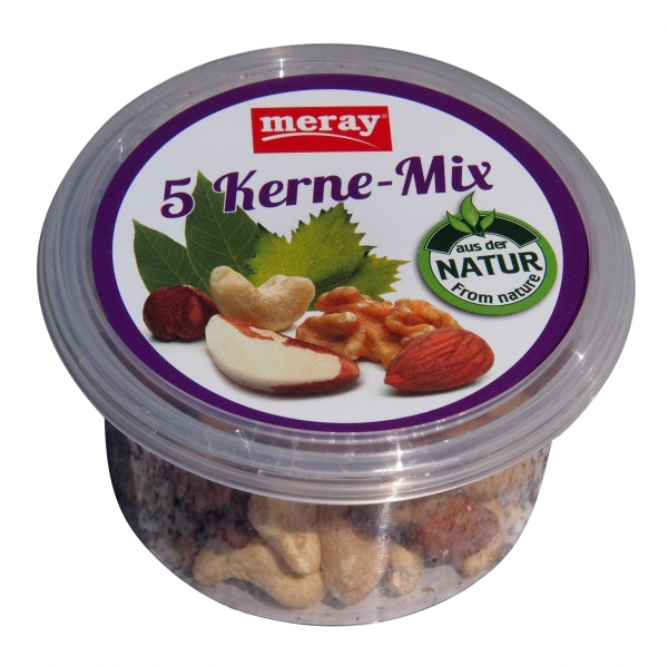 Meray - 5 Kerne-Mix in der Snackbox (100g)